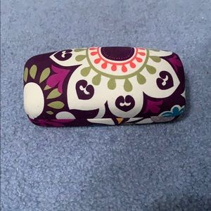 Vera Bradley Eyeglass case with cleaning towel